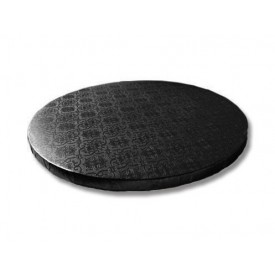 Base redonda negra 30 x 1
