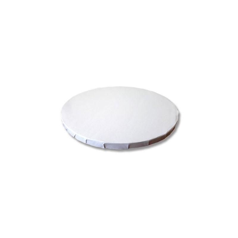 Base redonda blanca 20 x 1