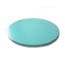 Base redonda azul claro 25 x 1