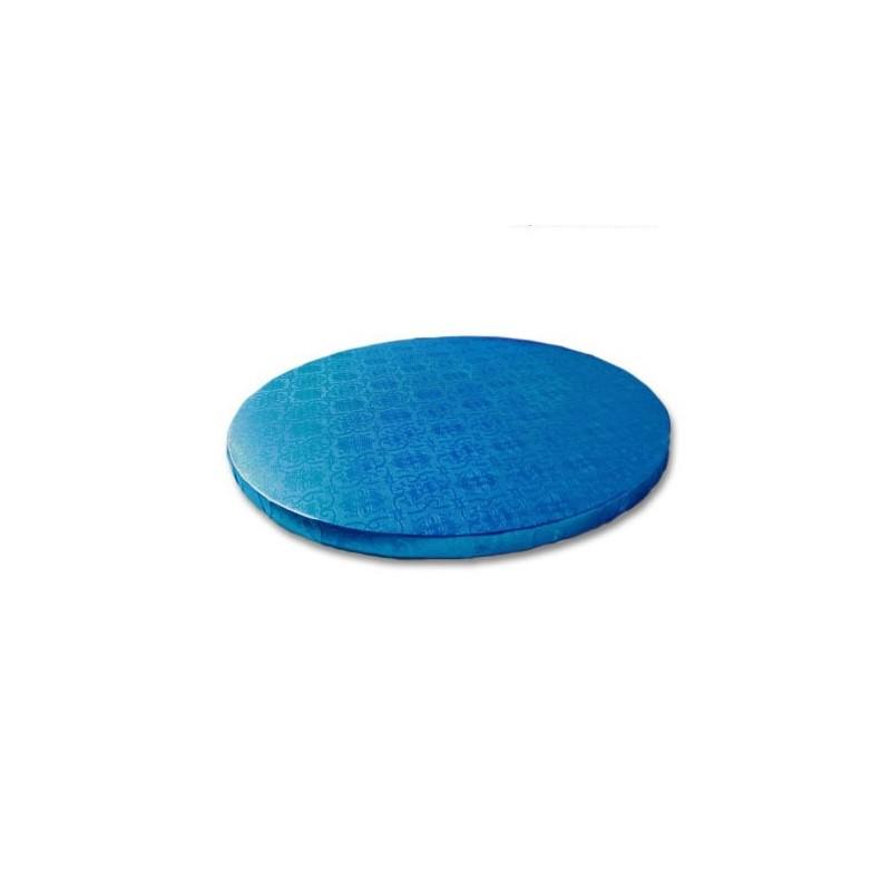 Base redonda azul 25 x 1