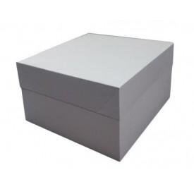Caja tarta blanca 40x40x15