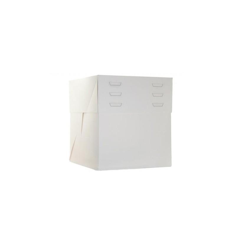 Caja tarta altura regulable 40x40x20 a 30 cm de altura