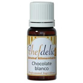 Aroma Alimentario Chocolate Blanco 10 ml - Chef Delice