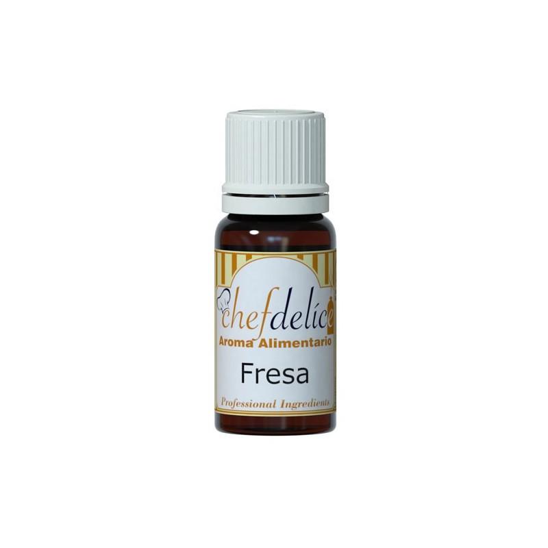 Aroma Alimentario Fresa 10 ml - Chef Delice