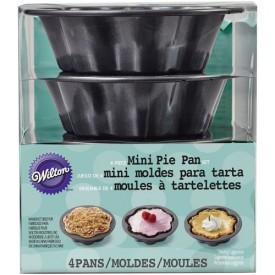 Moldes Ondulados Minis para Cakes Tipo Bundt Set/4 Wilton