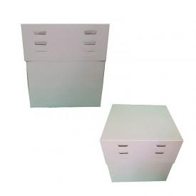 Caja tarta altura regulable 35x25x20 a 30 cm de altura