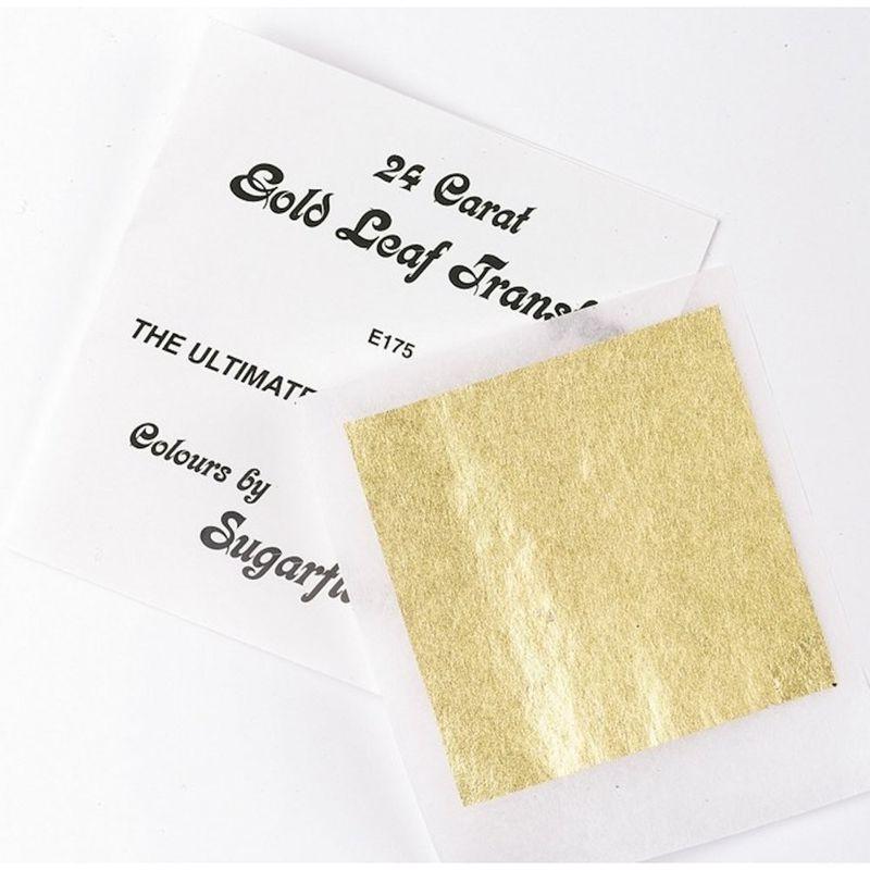 Hoja de Oro de 24 Quilates Sugarflair