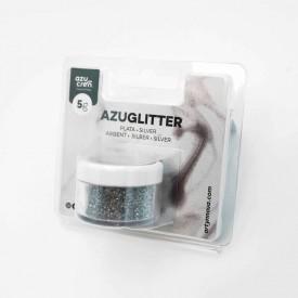 Purpurina Decorativa Plata 5 gr Azuglitter