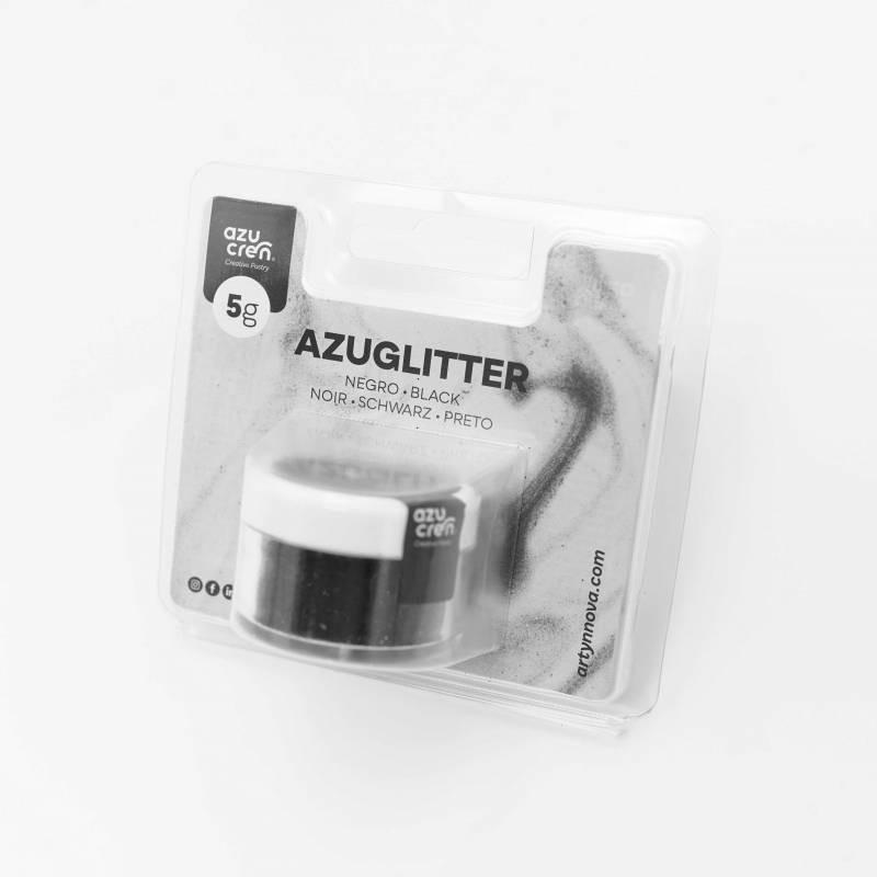 Purpurina Decorativa Negra 5 gr Azuglitter