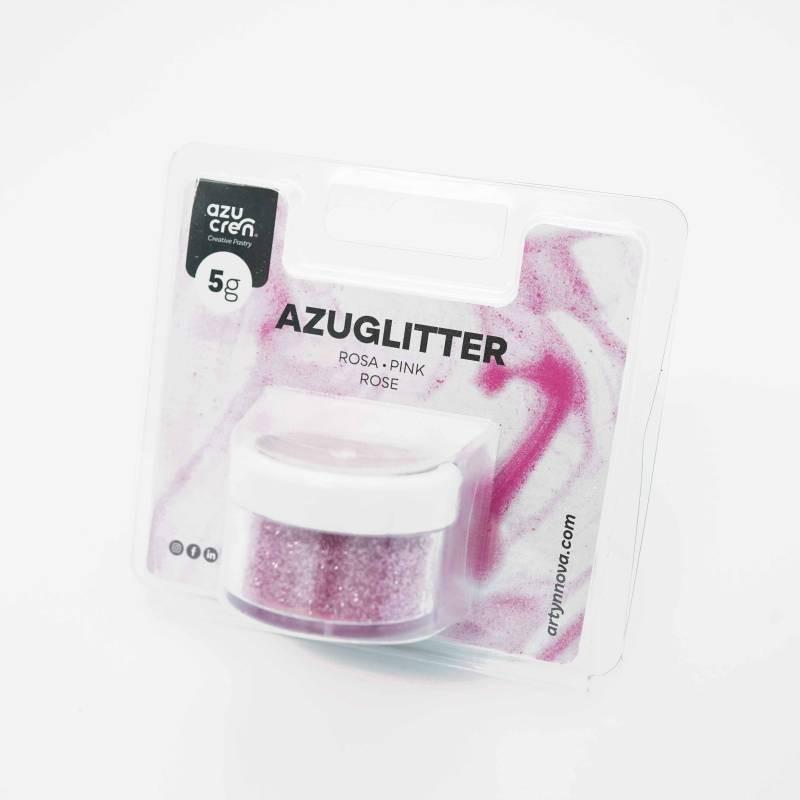 Purpurina Decorativa Rosa 5 gr Azuglitter