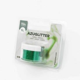 Purpurina Decorativa Verde 5 gr Azuglitter