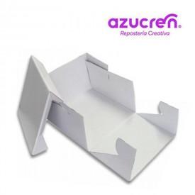 Caja Tarta Blanca Extra Fuerte 25x25x15 cm. Azucren