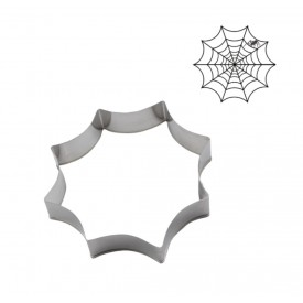 Cortador de acero telaraña. Halloween