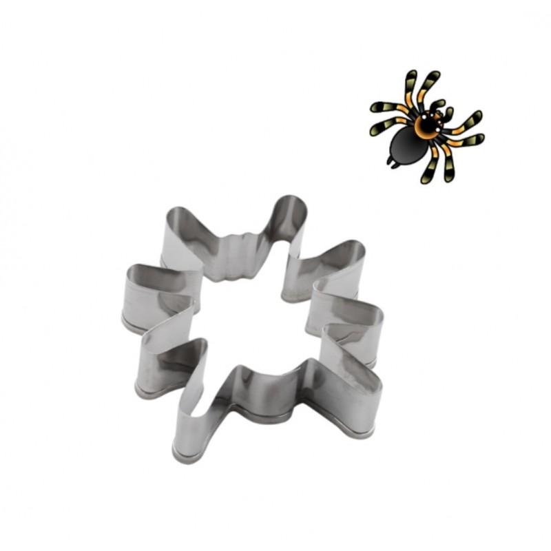 Cortador acero. Araña. Halloween