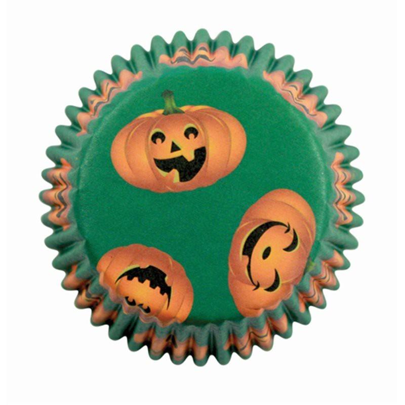 Cápsulas Calabaza Halloween PME 60 unidades