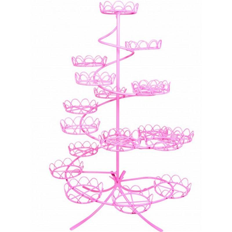 Stand Cupcake Rosa PME. Para 19 Cupcakes