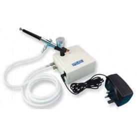 PME Kit Aerógrafo con compresor