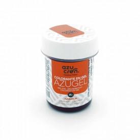 Colorante en Gel Azugel Color Naranja. 35 gramos