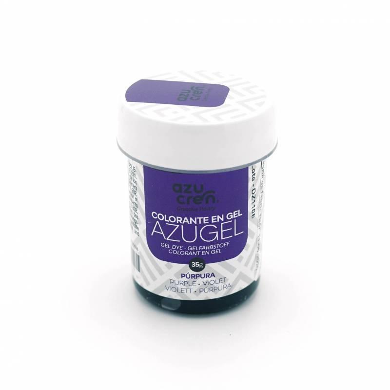 Colorante en Gel Azugel Color Púrpura. 35 gramos