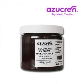 Colorante en Polvo Hidrosoluble Negro Azucren 100 gramos