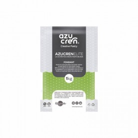 Fondant Verde Fluorescente 1 Kg. Azucren