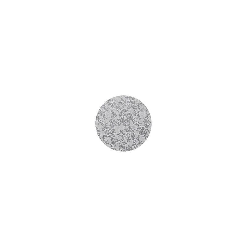 Base Redonda Plata 20cm (12mm alto)