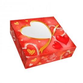 """Caja San Valentín """"Corazón"""". 20x20x8 cm. altura"""
