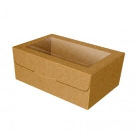 Caja para Galletas Kraft con Ventana. 7