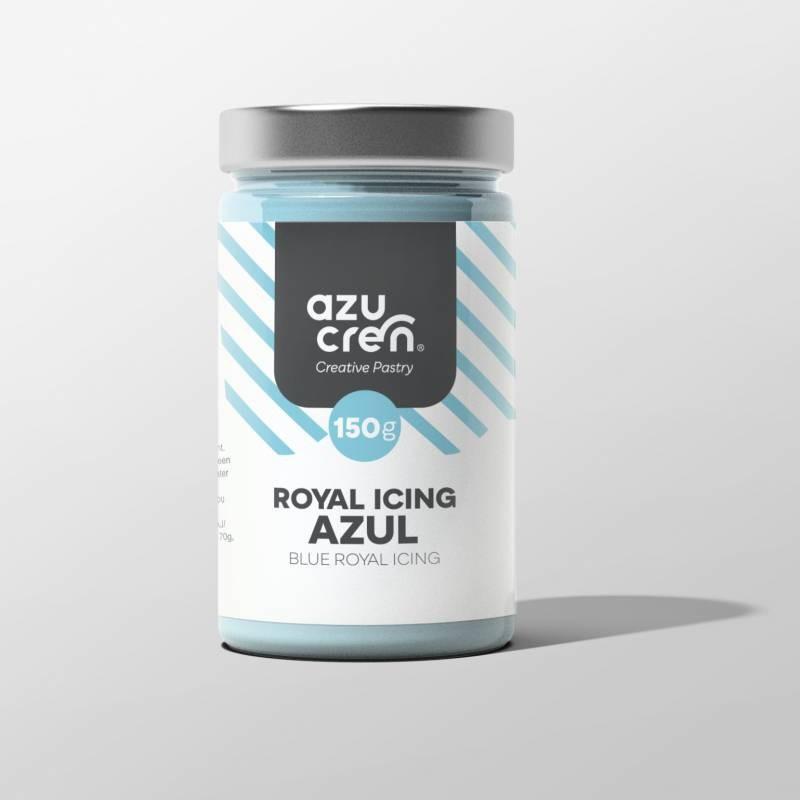 Royal Icing Azul. 150 gr. Azucren