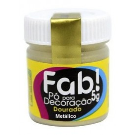 Colorante en Polvo Fab! Dorado 5 gr.