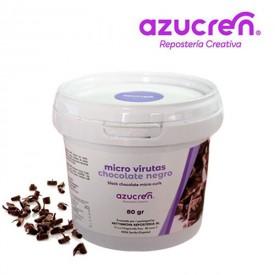 Micro Viruta Chocolate Negro. Azucren 80 gramos