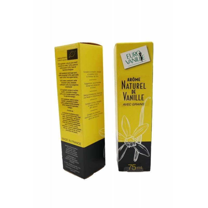 Extracto de Vainilla Bourbon con Semillas. 75 ml.
