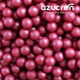 Perlas Azúcar Rosa Fuerte