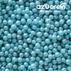 Perlas de Azúcar Turquesa 4 mm