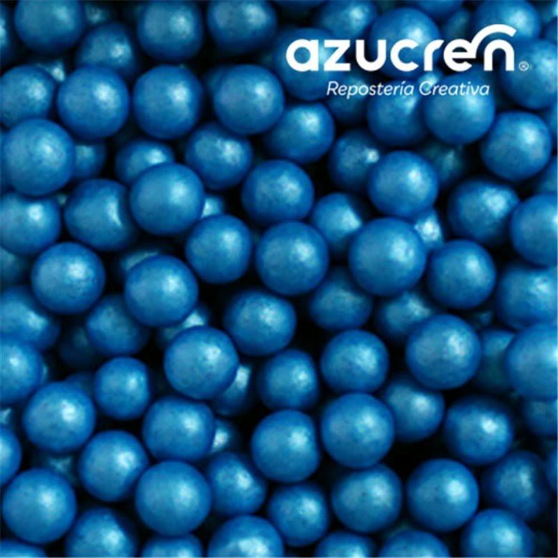 Perlas Azúcar Azules 7 mm