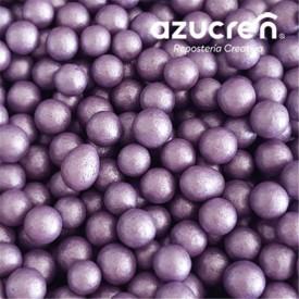 Perlas Azúcar Violeta 4 mm