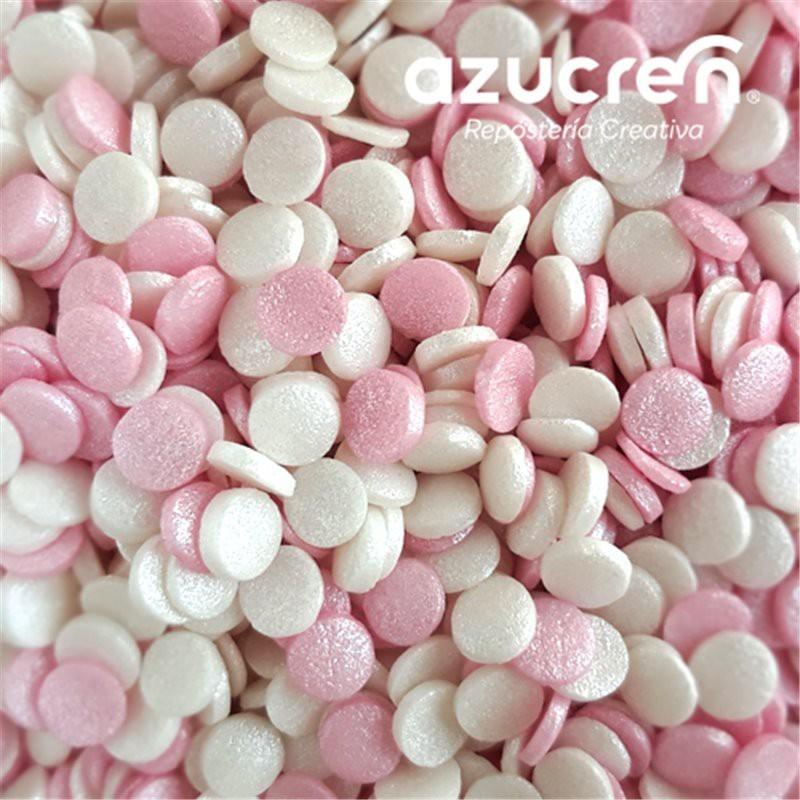 Confetti Rosa-Blanco