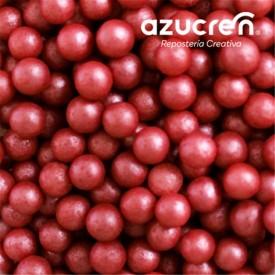 Perlas Azúcar Rojas 7 mm