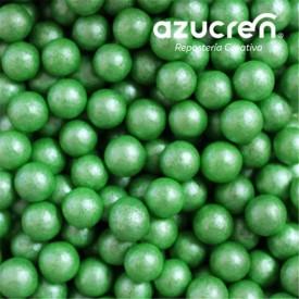 Perlas de Azúcar Verde 7 mm. 90 gr.