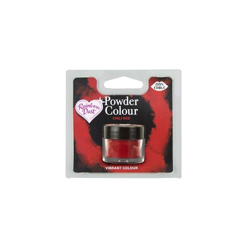 Colorante Comestible en Polvo Chili Red