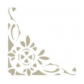 Stencil Mini Deco Cenefa 012