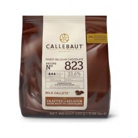 Chocolate con Leche 400 gr Callebaut