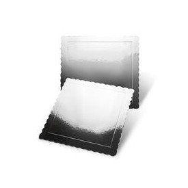 Base Cuadrada Efecto Espejo 25x25 cm x 3mm