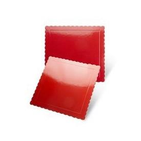 Base Cuadrada Roja 25x25 cm x 3mm