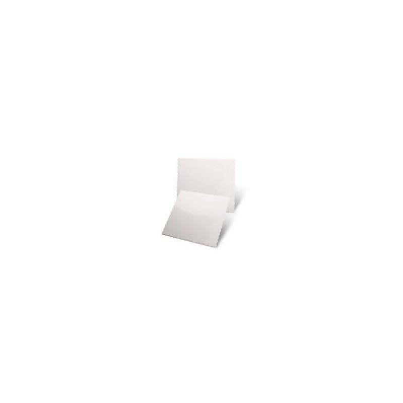 Base Cuadrada Blanca 25x25 cm x 3mm