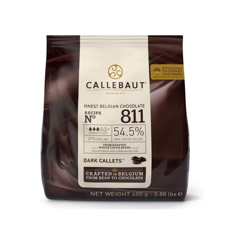 Chocolate Negro 54.5% 400 gr Callebaut