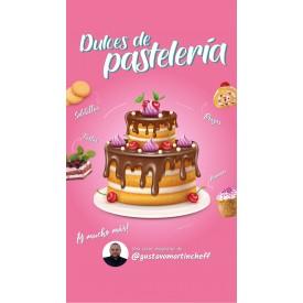 Dulces de pastelería