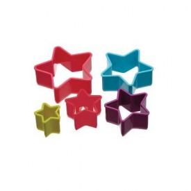 Set 5 Cortadores de Galletas Estrella
