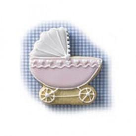 Cortador de Galletas Carrito de Bebé