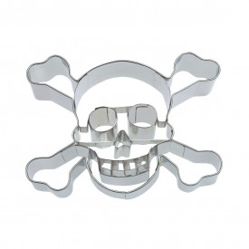 Cortador de Galletas Calavera Pirata